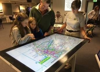 TouchTable in action (c) James Hutton Institute
