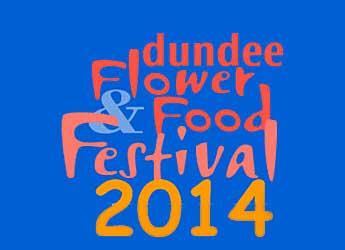 Image of the Dundee Flower and Food Festival logo