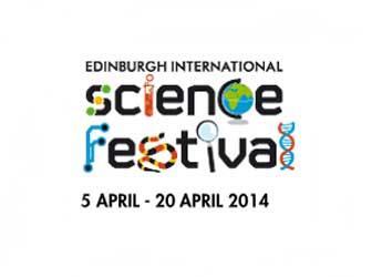 Edinburgh International Science Festival 2014 logo