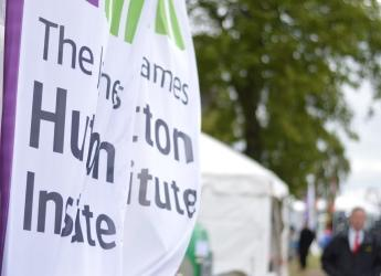 James Hutton Institute marquee at the Royal Highland Show