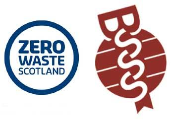 Zero Waste Scotland and BSSS logos