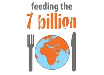 Feeding the 7 billion logo