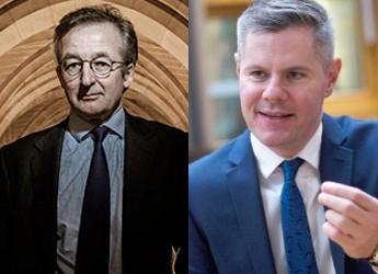 Professor Dieter Helm (l) and Mr Derek Mackay MSP (r)