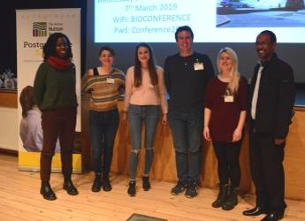 Winners of PhD student competition (c) James Hutton Institute