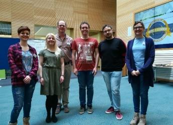 Hutton delegation at SEFARI Student Showcase 2019