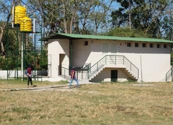 The water facility was built at Berambadi Primary School, Karnataka, India