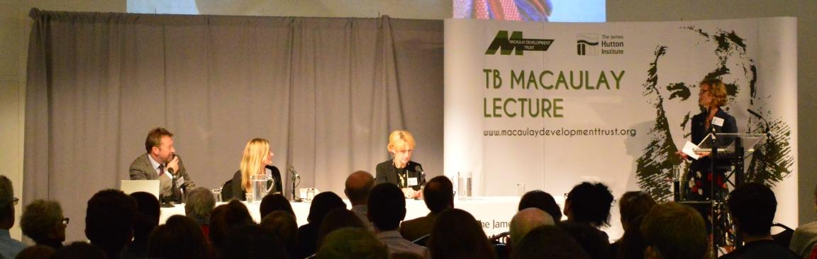 41st TB Macaulay Lecture (c) James Hutton Institute