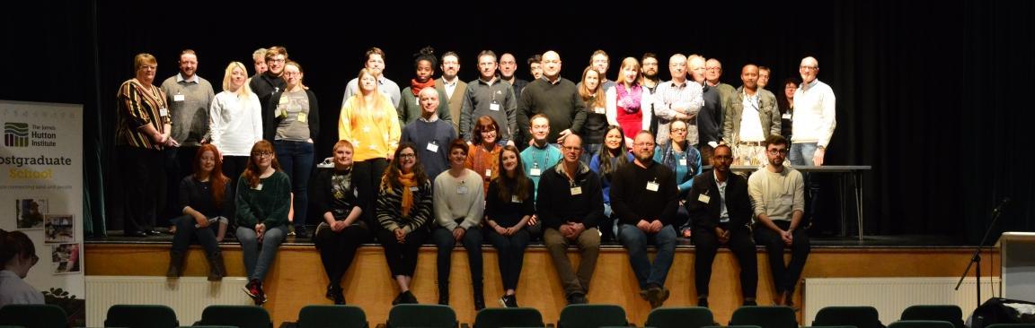 Delegates of 2019 Hutton PhD event (c) James Hutton Institute