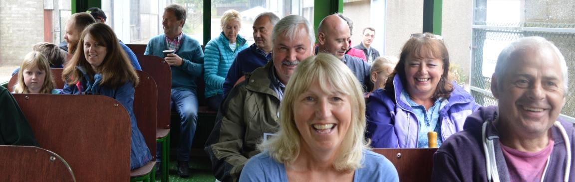 Tractor tours proved very popular at OFS Glensaugh (c) James Hutton Institute