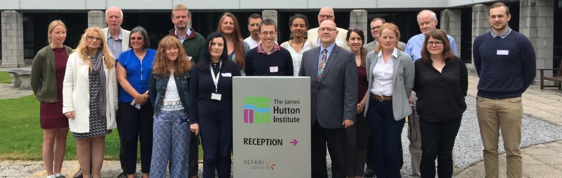 Delegates of the Scottish social innovation workshop in Aberdeen (c) Hutton