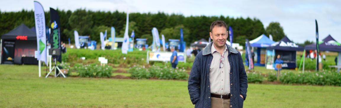 Euan Caldwell, Head of Field, Farm & Glasshouses, James Hutton Institute