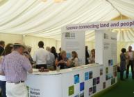 Inside the marquee at Royal Highland Show 2014