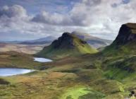 Scottish hills and lochs