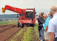 Machinery demonstrations at Potatoes in Practice 2013