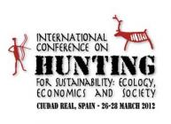 Image of the Hunting for sustainability conference logo