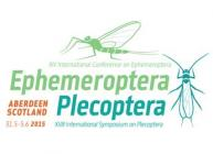 Ephemeroptera and Plecoptera conference logo