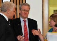 Iain Gordon speaking to politicians at Science and the Parliament 2012