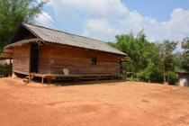 Typical hut in the village of Ban Souy