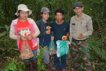 The two local girls had been collecting Matsutake 5 km away in the forest