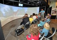 Audience naming deer virtual woodland, VLT@ John Hope Gateway