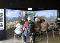 Explaining symptoms of Chalara ash dieback in interactive virtual reality model