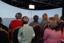 Virtual visit to offshore wind turbine in Aberdeen Bay windfarm proposal, in VLT