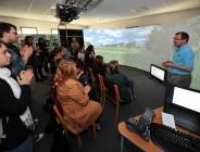 Univ Dundee Planning students: greenspace visioning using virtual reality model