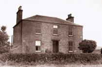 The original Mylnefield Farmhouse, Dundee