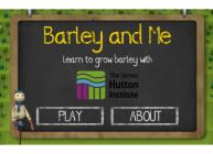Barley and Me screenshot (c) James Hutton Institute