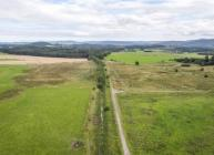 The straightened Beltie Burn channel south of Torphins will be restored