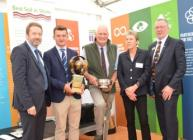 Best Soil in Show 2017 prizegiving at Royal Highland Show (c) James Hutton Inst