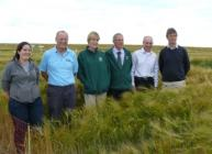 James Hutton Institute and SRUC researchers (c) James Hutton Institute