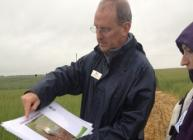 Blair McKenzie discusses arables research at Cereals in Practice 2013