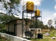 The new facility was built at Berambadi Primary School in Karnataka state, India