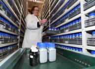 Dopplerite samples gifted to Scotland's National Soil Archive