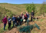 Volunteers at Glensaugh (c) James Hutton Institute