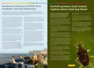 Screenshot of Hutton Highlights, June 2021 issue