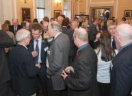 Photograph of the launch reception at the Royal Society of Edinburgh