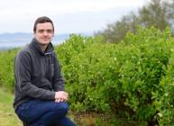 Honeyberries KTP associate Ruari Macleod (c) James Hutton Institute