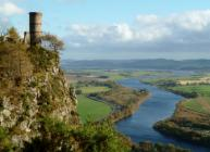 Kinnoull Hill with River Tay in background (c) James Hutton Institute