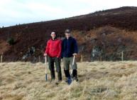 Lynbreck Croft managers Lynn Cassells and Sandra Baer (photo Lynbreck Croft)