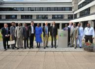 Mozambique Ministerial Party visit the James Hutton Institute