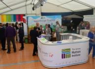 The James Hutton Institute's marquee at the Royal Highland Show
