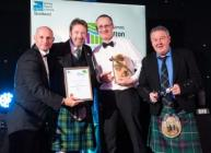 Presentation of Food & Farming Award (courtesy Simon Williams Photography)