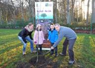Schoolchildren and scientists came together to mark World Soil Day