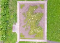 Vegetable Map of Scotland in the Living Field garden (c) James Hutton Institute