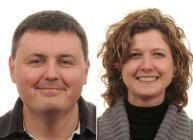 Derek Stewart and Eleanor Gilroy