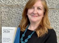 Professor Lorna Dawson announced as Soil Forensic Expert Witness of the Year at GLE Award