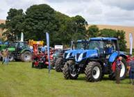Machinery exhibits at Potatoes in Practice 2012
