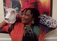Poisoned Arrows storyteller Dr Kelone Khudu-Petersen © Marian Grime